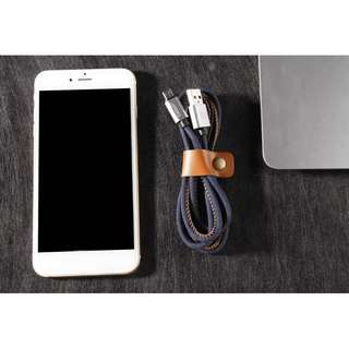 Cowboy iPhone Lightning Android MicroUsb Charging Data Cable