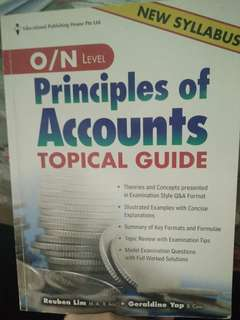 🚚 N level principles of accounts tropical guide