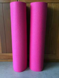 2 pcs exercise mats
