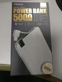 Proda Power bank 5000mAh