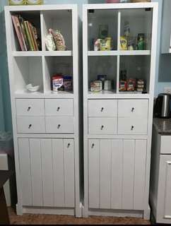 Take both for Php7500!!! Kitchen Cabinet/Office Cabinet