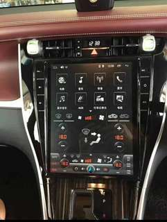 Toyota harrier 12.1 inch touch screen with Android