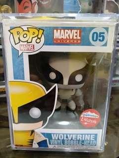 Wolverine (black & white) Funko Pop