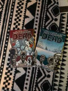 The Walking Dead Comic TPB Vol 1 and Vol 2