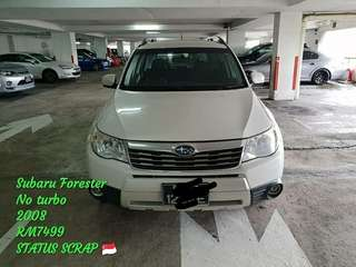 SUBARU FORESTER NO TURBO