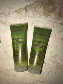 Crabtree & Evelyn shampoo