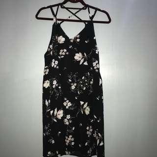 TOPSHOP INSP FLORAL DRESS
