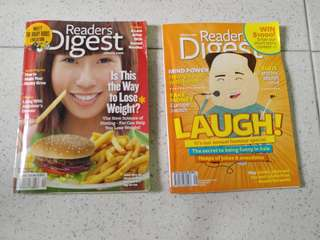 Reader's Digest - 2pcs (2011 & 2012)