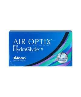 Air optix hydraglyde monthly