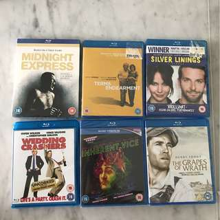 Blue ray dvds drama comedy thriller