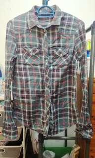 Topshop Checked Shirt