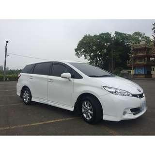 2013 Toyota Wish 2.0 白 FB收尋:小馬愛車
