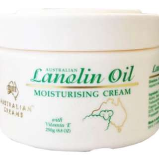 G&M Lanolin Oil Moisturing Cream (Australian)