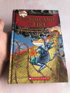 Geronimo Stilton: The Volcano of Fire
