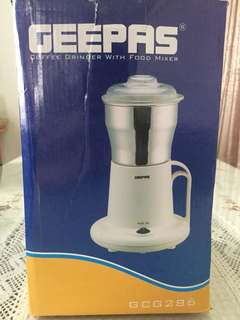Coffee Grinder with food mixer