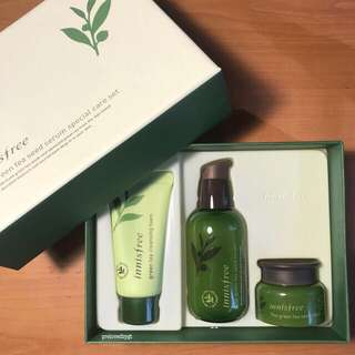 INNISFREE The Green Tea Seed Serum Special Care Set