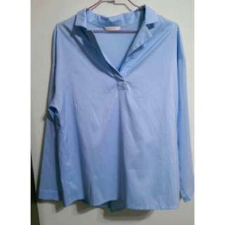 🚚 Meier q水藍襯衫