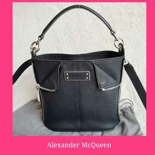 Alexander McQueen De-Manta Small 2way-bag