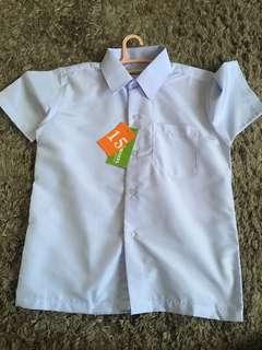 Baju sekolah rendah size 15