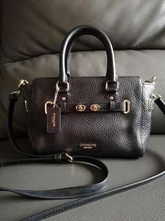 今日特價COACH two way leather bag