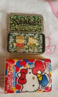 Hello Kitty 男女襟章盒(包平郵)