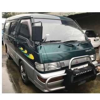 2001年- 中華三菱- 得利卡Delica廂型車-自排-綠色