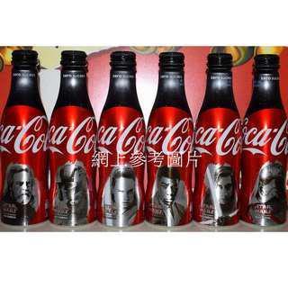 全新絕版 法國版Star WarsThe Last Jedi  鋁瓶樽(全新) Coca-Cola Zero Sugar