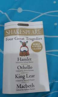 Shakespeare four great tragedies