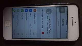 iPhone 5 swap for huawie ya38 or sale
