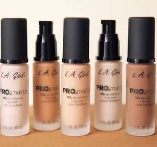 L.A GIRL PRO HD MATTE FOUNDATION