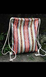 Boho Aztec Drawstring Bag