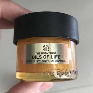 The body shop - oils of life - eye cream