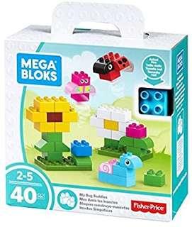 🚚 (Pre-Order)   Mega Bloks My Bug Buddies Building Kit