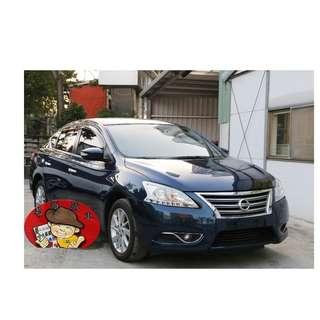 【老頭藏車 】2014 Nissan Sentra『0元就把車貸回家 』『全貸,超貸,免保人』中古 二手 汽車