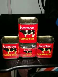 BORDON Corn beef  (promo prize for 400 pesos only)
