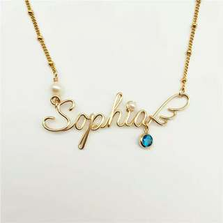 Customer necklace