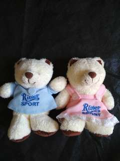 Boneka Bear Couple RitterSport