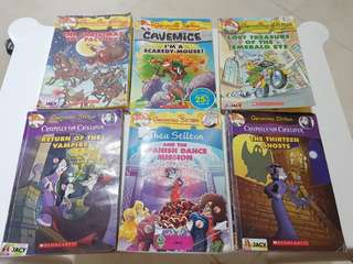 Geronimo Stilton Books / Thea Stilton books