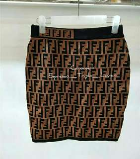 Knitted A-Line bodycon Winter/Autumn skirt
