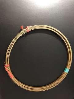 紗包線,扁銅線1.5x10mm=15平方,DIY點焊機~