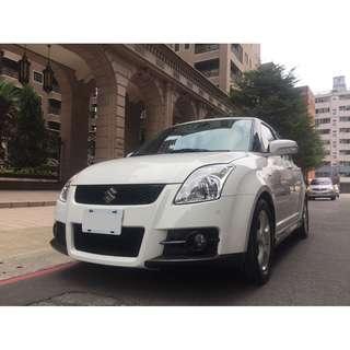 2009 Suzuki Swift 1.5 白 FB收尋:小馬愛車