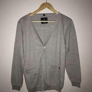 BLOOP - Cardigan - Grey