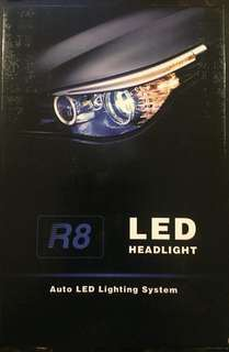 R8  LED HEADLIGHT DUAL COLOR
