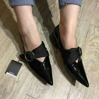 Zara glossy shoes