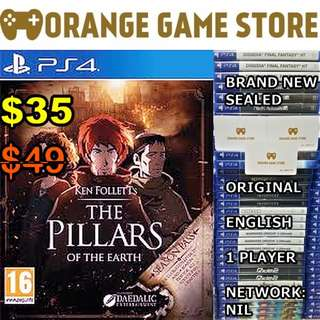 PS4 Pillars of The Earth