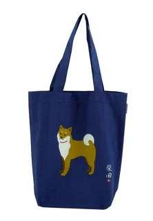 藍色柴犬tote bag
