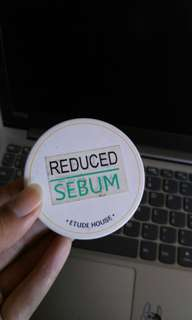 Etude house zero sebum / reduced sebum