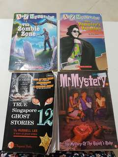 Mr. Mystery / ghost stories