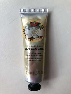 🚚 The Body Shop - Vanilla Chai Hand Cream
