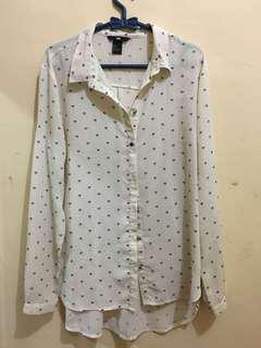 H&M diamond shirt